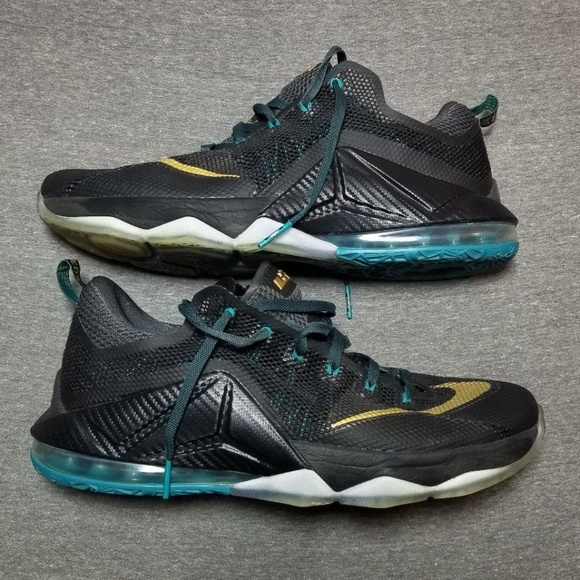 e37ad41c5ded8 B12 Lebron 12 Low Svsm Size 14 Worn 2x